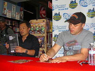 The New 52 - Image: 8.31.11Jim Lee Geoff Johns New 52By Luigi Novi 14