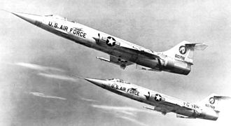 Jamal A. Khan - Image: 83d Fighter Interceptor Squadron F 104s 1958