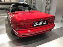 Cabrio Heckansicht Im BMW Museum