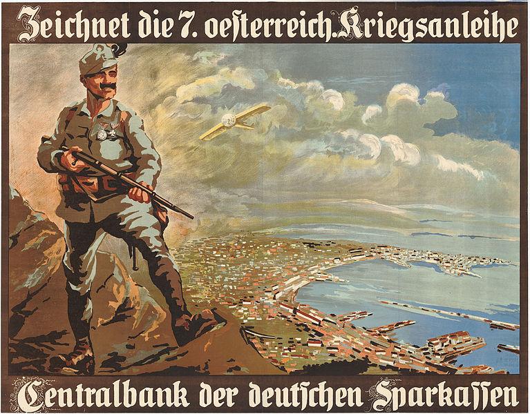 File:8 Sammlung Eybl Österreich. Anonym. Zeichnet die 7. oesterreich. Kriegsanleihe. 1917. 74 x 95 cm. (Slg.Nr. 78).jpg