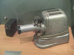 8 mm camera and translation projector in museatar.JPG