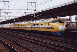 Doctor Yellow - Image: 922 T2 Gifu Hashima 19981011