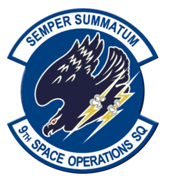 9th Combat Operations Squadron - Former 9th Space Operations Squadron emblem