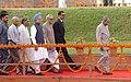 A.P.J. Abdul Kalam, the Vice President, Shri Bhairon Singh Shekhawat, the Prime Minister, Dr. Manmohan Singh.jpg
