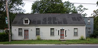 National Register of Historic Places listings in Greene County, New York - Image: A. T. House Durham NY