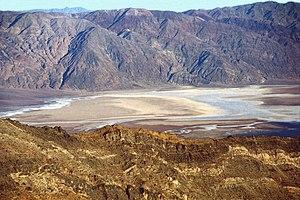 Telescope Peak - Badwater Basin from Mahogany Flat trail