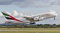 A6-EDJ Emirates A380 (9587329346).jpg