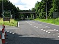A68 - A69 Road Junction North of Corbridge - geograph.org.uk - 1409660.jpg