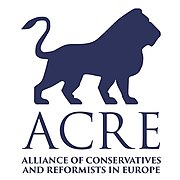 Logo of the Alliance of European Conservatives and Reformists