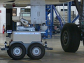 Air-Cobot under an aircraft