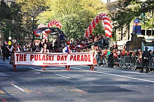 Pulaski Day Parade - 80th Pulaski Day Parade, October 1, 2017.