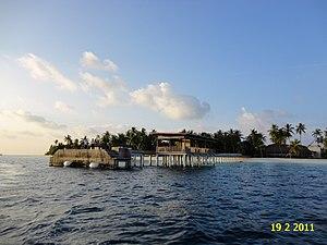 Gaafu Alif Atoll - A hotel on Hadahaa