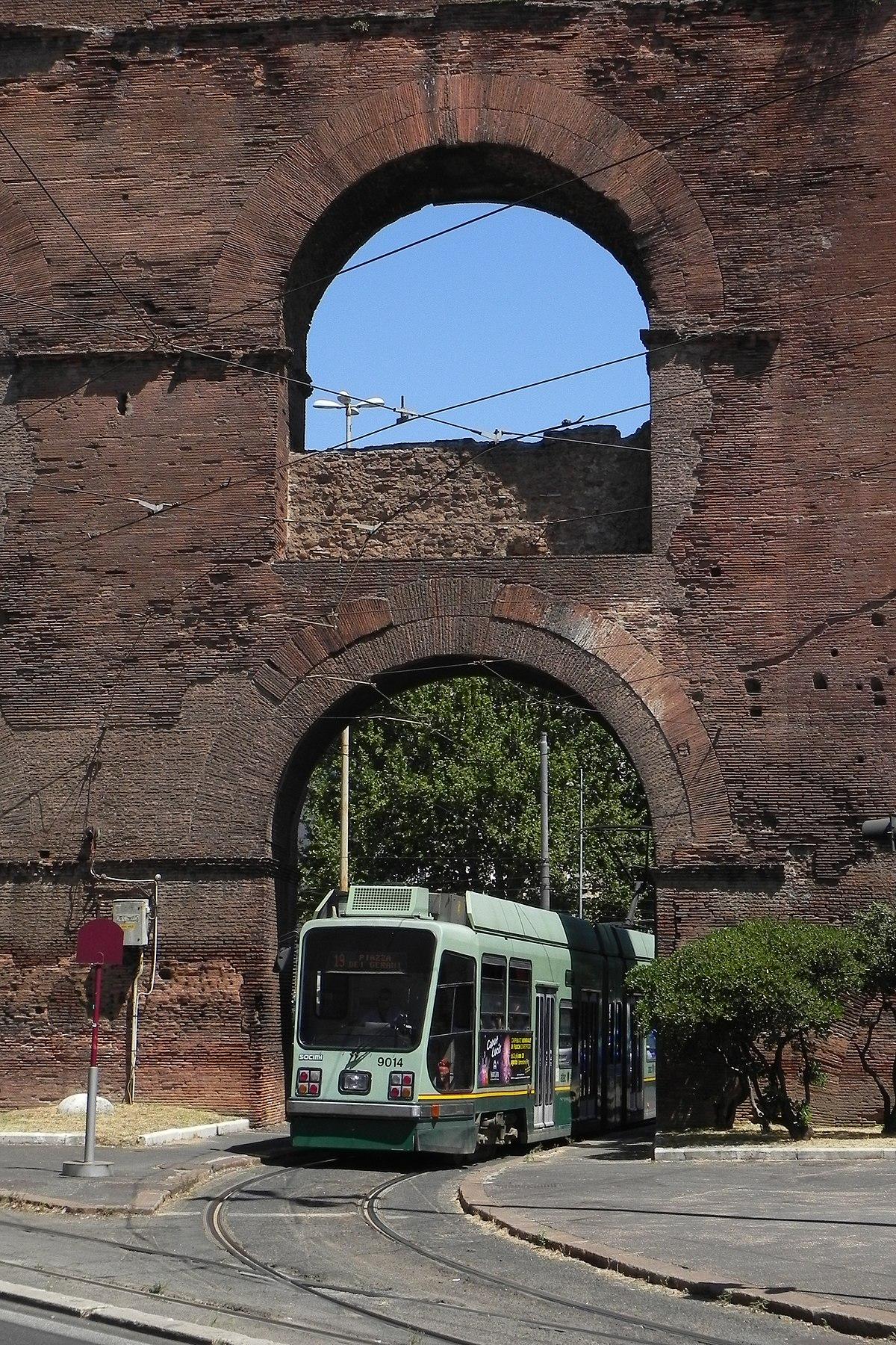 Rete tranviaria di Roma Wikipedia