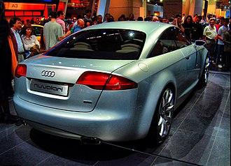 Audi Nuvolari quattro - Rear view of the Nuvolari quattro.