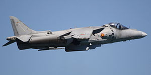 McDonnell Douglas AV-8B Harrier II - Image: AV 8B Harrier II Plus spanish navy (cropped)