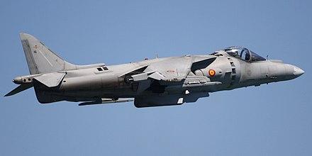 Harrier ii validating v stol plane