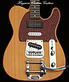 A Custom Shop mahogany Tele style Guitar in with tremolo.jpg