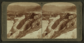 A Mountain of 'Petrified Water'- Pulpit Terrace and Mammoth Spring Hotel, Yellowstone Park, U.S.A, by Underwood & Underwood 5.png