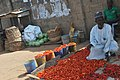 A Nigerian Tomatoes seller on the roadside in Ilorin7.jpg