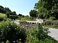 A bridge over a stream near the entrance to Gould's Farm - geograph.org.uk - 1922055.jpg