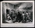 A general leading marauding troups into a cottage in Genoa a Wellcome V0041596.jpg