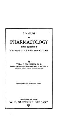 A manual of pharmacology and its applications to therapeutics and toxicology (1922).djvu