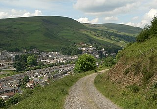 Ogmore Vale Human settlement in Wales
