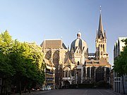 Aachen Cathedral North View at Evening.jpg