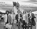 Aankomst Pretty Things (beatgroep) op Schiphol, v.l.n.r John Stax (basgitarist),, Bestanddeelnr 917-6654.jpg
