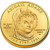 Abigail Adams First Spouse coin (obverse)