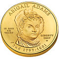 Abigail Adams First Spouse Coin obverse.jpg