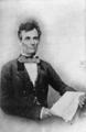 Abraham Lincoln by Von Schneidau, 1854.png