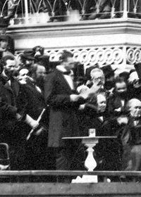 Abraham Lincoln second inaugural address -crop.jpg
