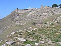 Acropolis from middle city Pergamum 466.jpg