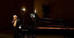 Adam Makowicz - Adam Makowicz concert appearance at Rzeszów Philharmonia, 2006.