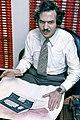 Adam Osborne 05 81 with picture of Osborne 1 Computer.jpg