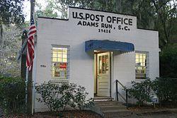 Post office in Adams Run