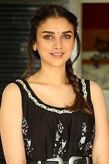 Aditi Rao Hydari Indian actress, singer and dancer