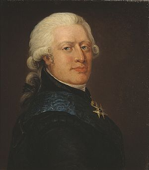 Adolf Fredrik Munck - Munck as painted by Jonas Forsslund in 1799.