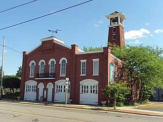 National Register of Historic Places listings in Lenawee County, Michigan - Image: Adrian Engine House No 1