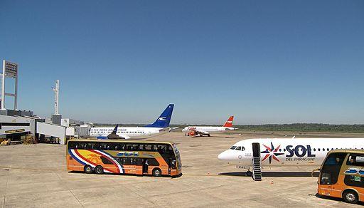 Aeropuerto de Asunción Paraguay by Felipe Méndez