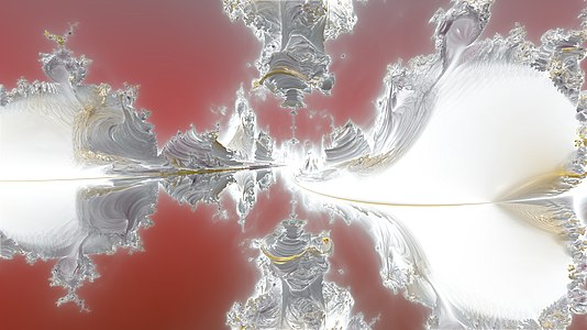 3D fractals glowing