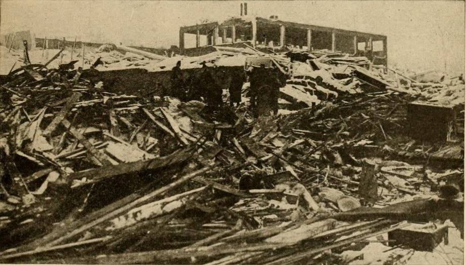 Aftermath in Halifax of the great Halifax explosion 1917