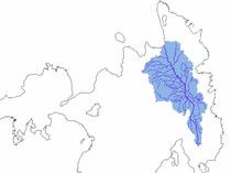 Agusan river watershed.png
