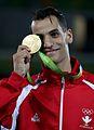 Ahmad Abughaush, 2016 Summer Olympics in Rio de Janeiro, men's 76 kg,.jpg