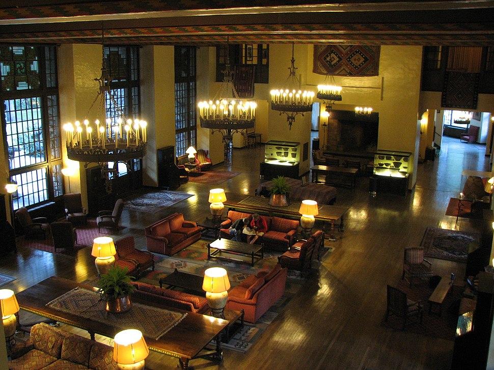 Ahwahnee Hotel - Great Lounge