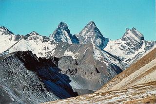 Aiguilles dArves mountain