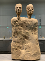 Ain Ghazal statue at the Louvre Abu Dhabi.png