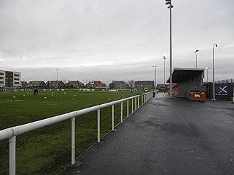 Edinburgh City F.C. - Ainslie Park, where the club currently ground share with Spartans
