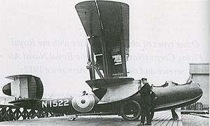 AD Flying Boat - An Air Department Flying Boat used by the Royal Naval Air Service (RNAS)